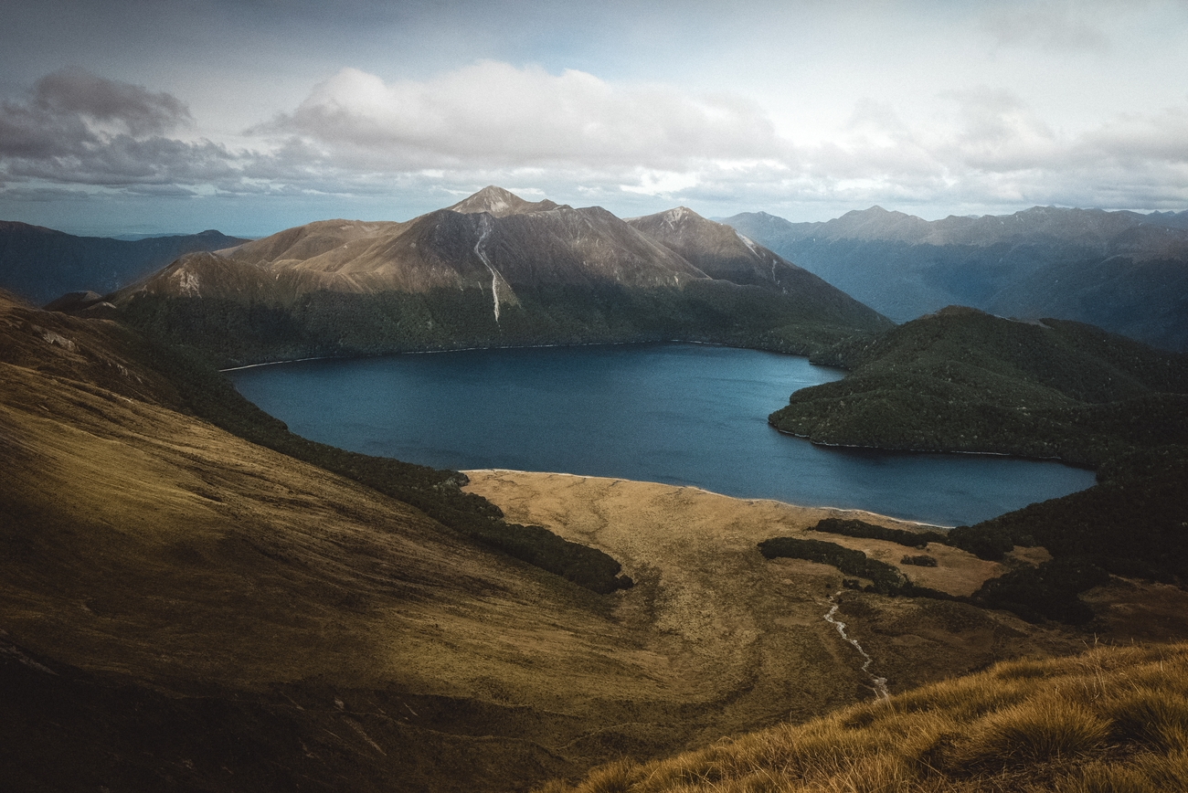The outstanding scenery in Fiordland national park are not just fiords but mountain lakes as well.