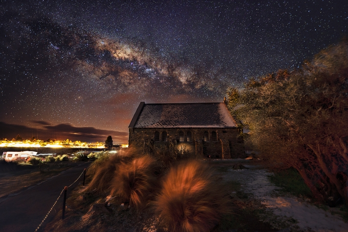 The Church of the Good Shepherd by GkCM - Capture The Milky Way Photo Contest