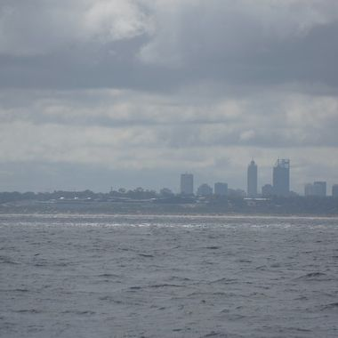 Perth from the boat