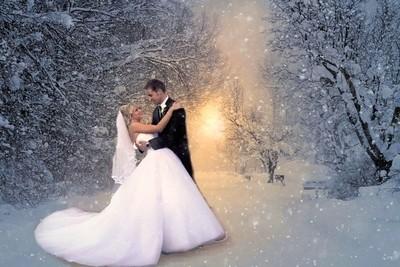 Wedding Day Snow