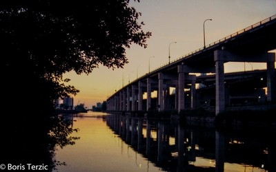 Keating Channel Sunset