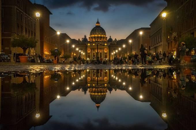 San Pietro Roma by RalfvonSamson - Bright City Lights Photo Contest