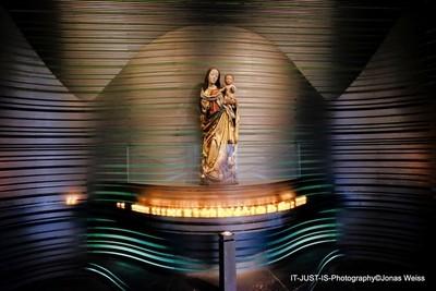 Maria and Jesus in St. Klara Church, nuremberg