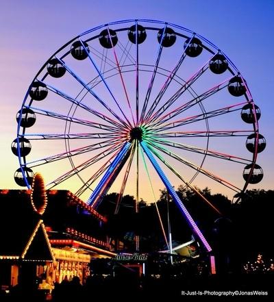 Ferris wheel in Nuremberg