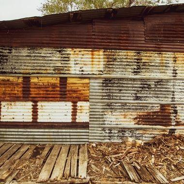 Rust - Hackberry, AZ.
