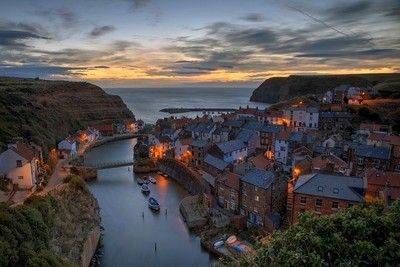 Staithes Dawn Approaching