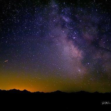 Milky Way viewed from Hurricane Ridge, Olympic NP, WA