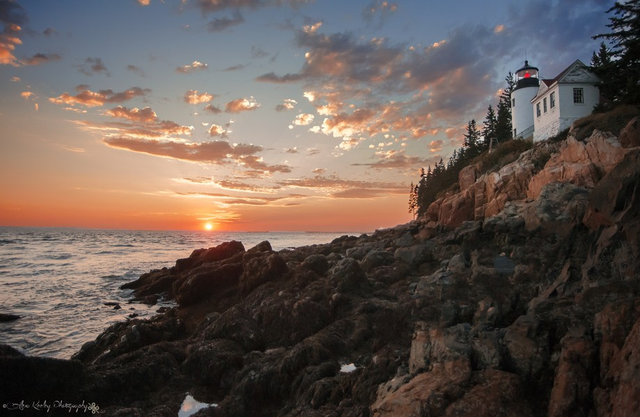 Bass Harbor Head Light in Acadia National Park, Maine.  Prints available for purchase:  https://w...