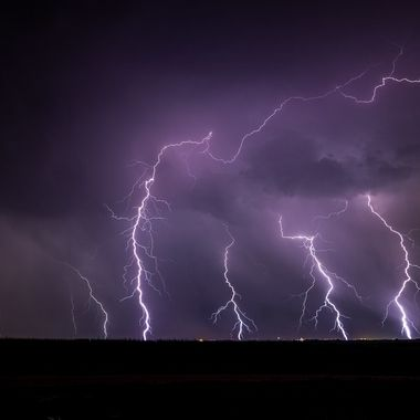 Lightning Storm Davey, Nebraska