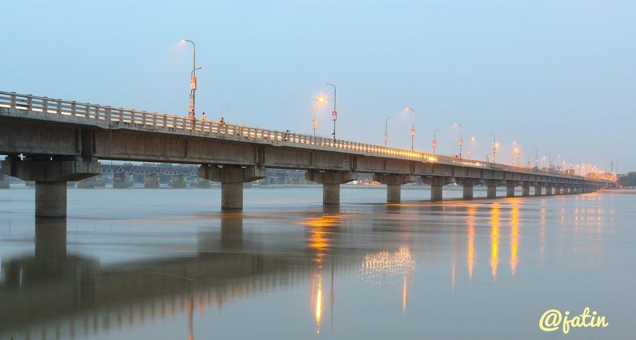 #Architecturalphotography #River #city #citylite #ganga #dream #photography #lightingphotography ...
