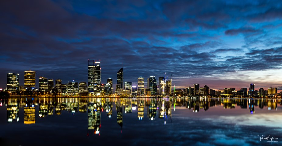 I was in Perth for work and I had to capture the amazing sunrises over the city with the Swan riv...