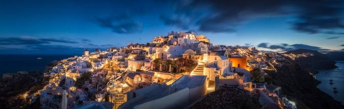 All of Oia by hpd-fotografy - Bright City Lights Photo Contest
