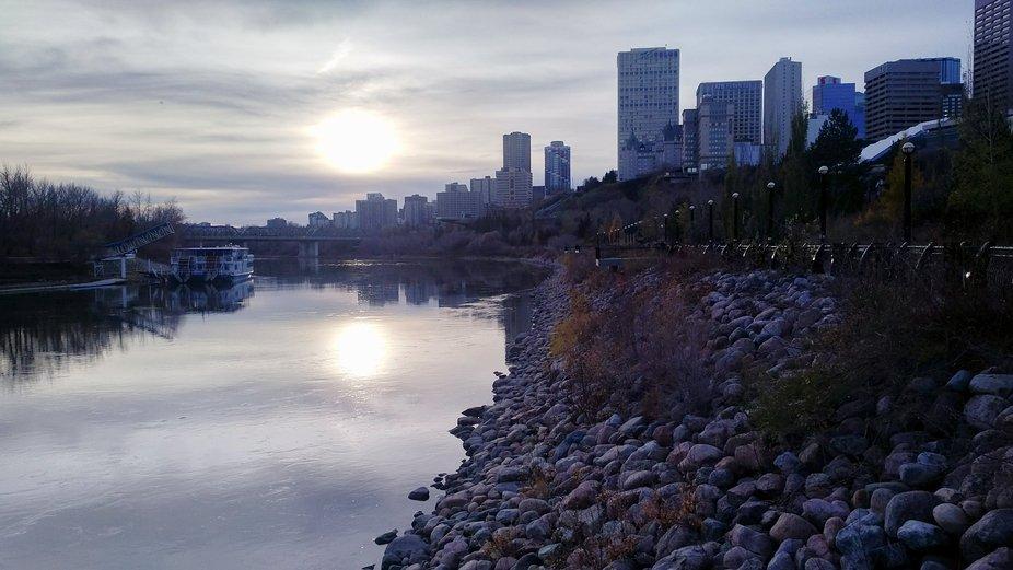 Louise McKinney Riverfront Park, Edmonton, Alberta, Canada