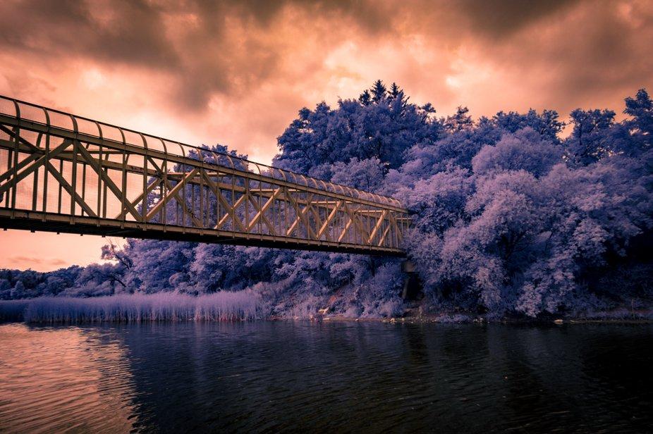 Taken at Rouge Hill Waterfront in Scarborough, Ontario, Canada. Nikon D3200 full spectrum + Kolar...