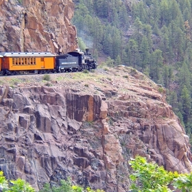 The line from Durango to Silverton has run continuously since 1881, although it is now a tourist and heritage line hauling passengers, and is one...