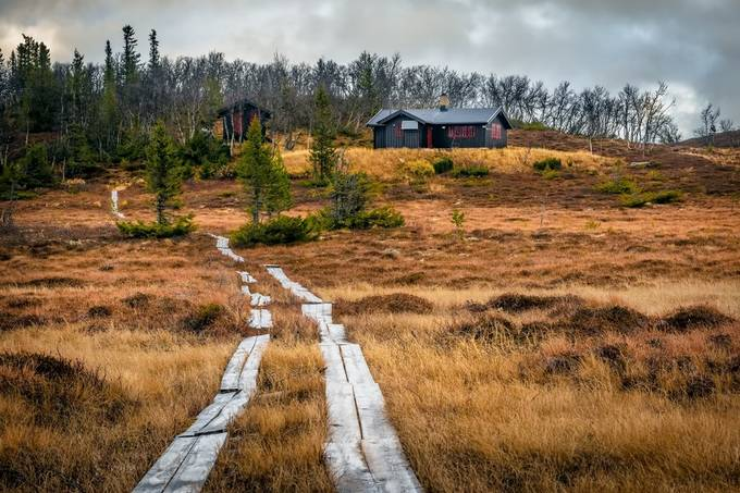 Cabin in the Mountains by fthorsen - Monthly Pro Photo Contest Vol 45