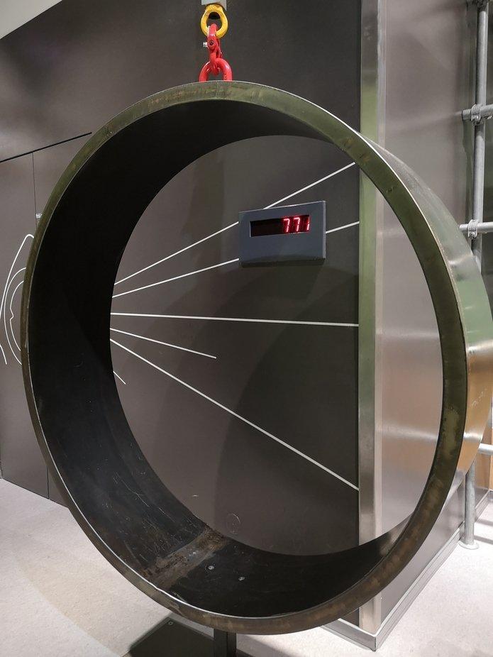 Für die Windkraftanlage ein Zwischenstück