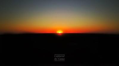 Country NSW sunset. Mavic pro