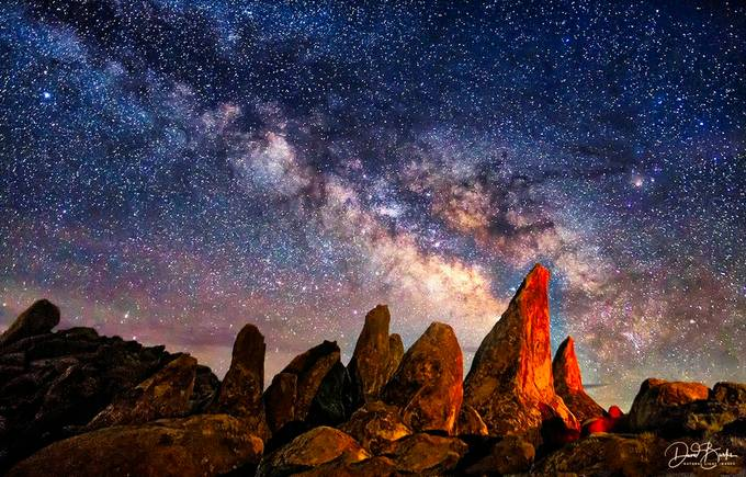 Night at Cochise Stronghold, AZ by OUSooner - Capture The Milky Way Photo Contest