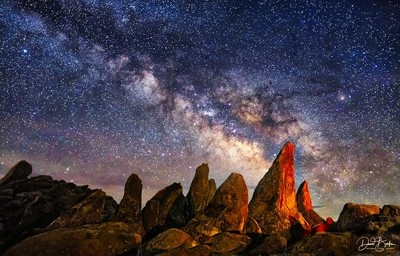 Night at Cochise Stronghold, AZ