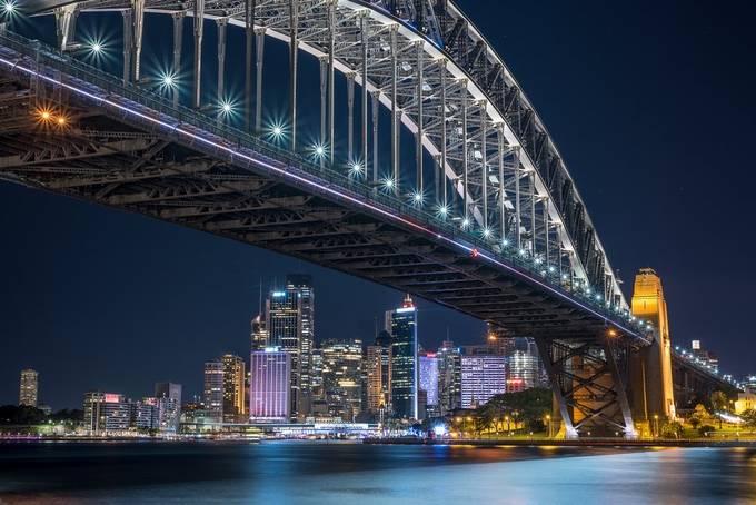 Sydney CBD by glennbernasol - Bright City Lights Photo Contest