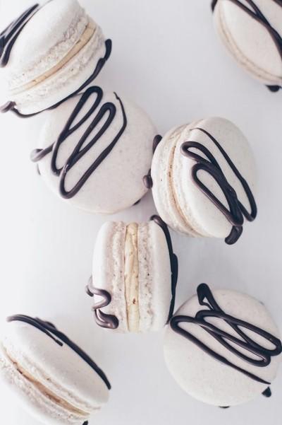 Cafe Mocha Macarons