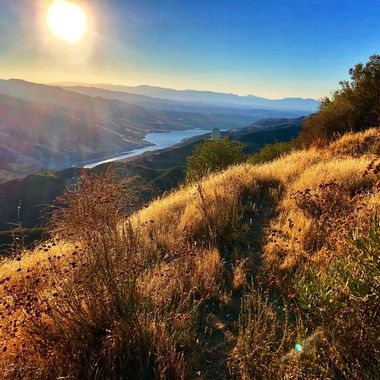 Beautiful Castaic Lake in Sourhern California!