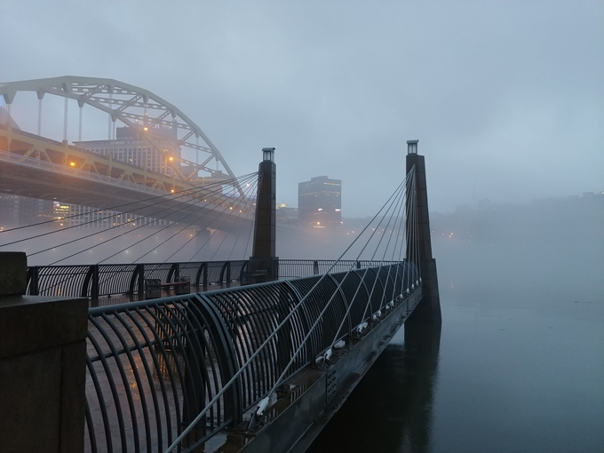 bridges & fogg by silviasunflower - Monthly Pro Photo Contest Vol 45