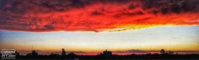Sunset at Wee Waa, NSW.