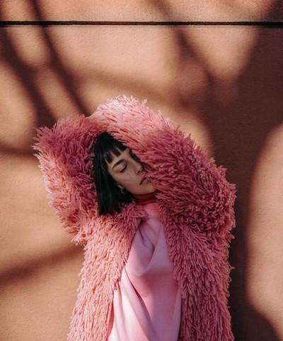 PUMPKIN FLAMINGO for @lucysmagazine with @penelopemarch  #editorial #fashioneditorial #fur #lucysmagazine #pink