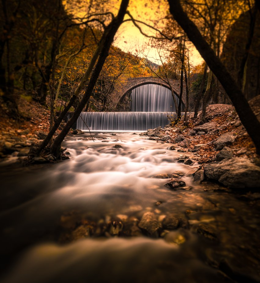 the sound of autumn by Konstantinos_Lagos - Everything Waterfalls Photo Contest
