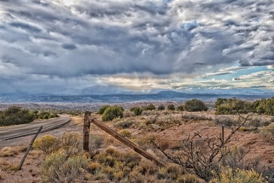 Road from Chimayo