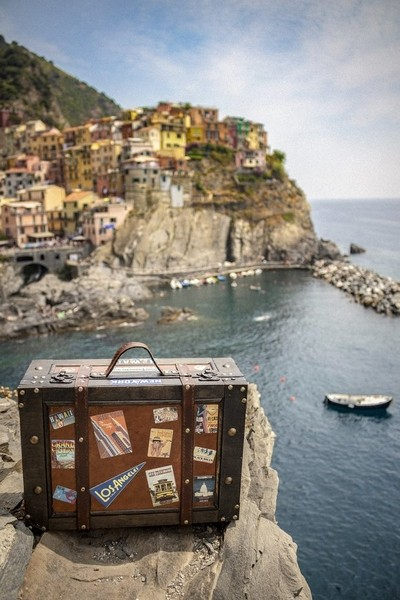 The Traveling Suitcase: Manarola Heights