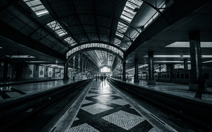 Lisbon Rossio by igorbabichenko - Public Transport Hubs Photo Contest