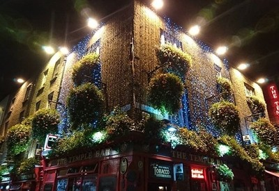 The iconic Temple Bar within the iconic Temple Bar