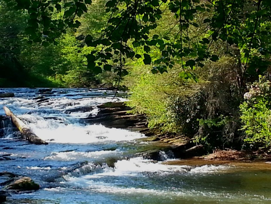 Soque River.....Shot on a beautiful Summer Day