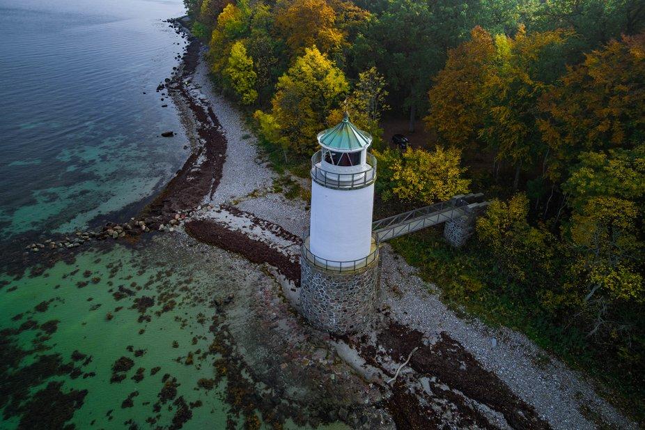 Taksensand lighthouse, Als Denmark