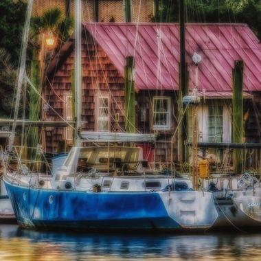 Shem Creek Sailboats