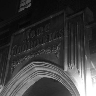 The main entrance to the Niccols Building on the University of Idaho, Moscow, Idaho campus.