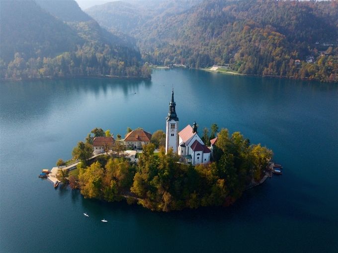 Lake Bled by petesmith2710 - Above The Earth Photo Contest
