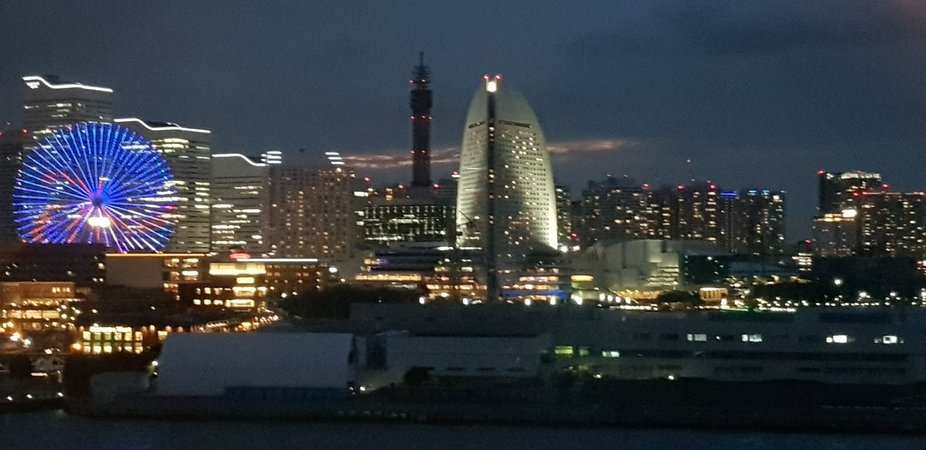 Some of the City lights  in Japan