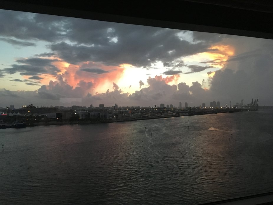 Dawn over Miami Bay