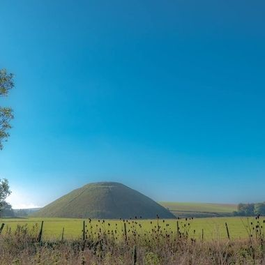 Silbury Hill near Avebury Stone Circle