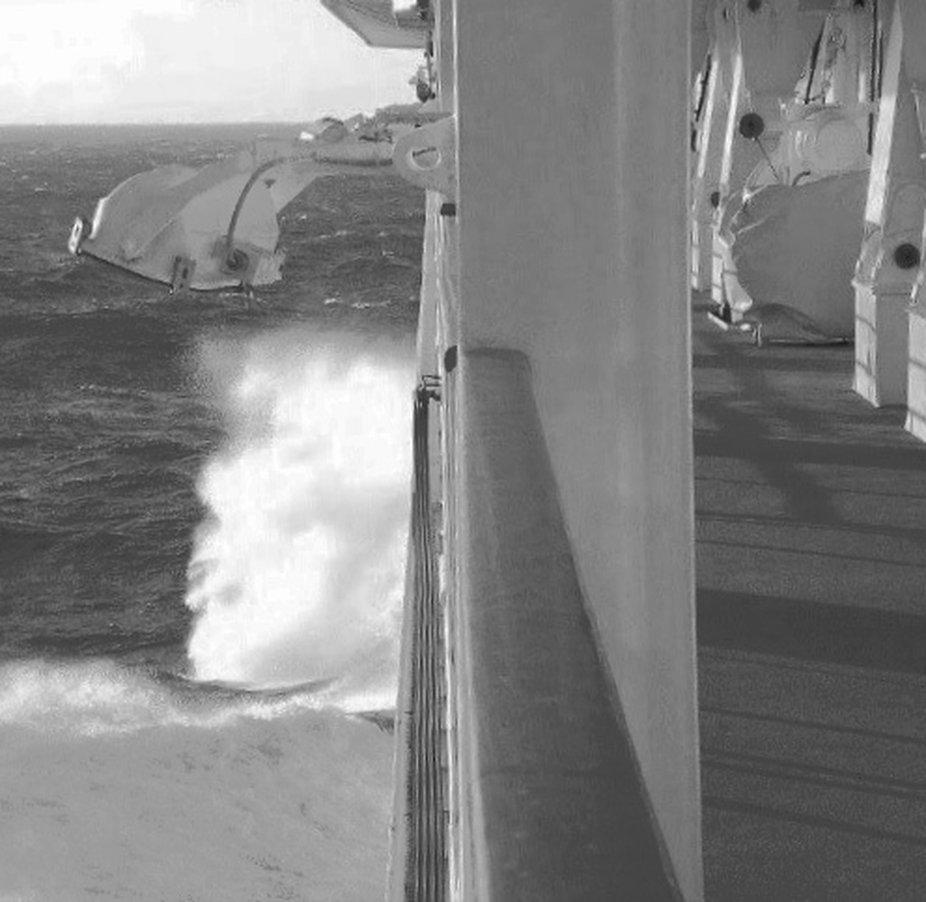 Nordsee und es wird ungemütlich