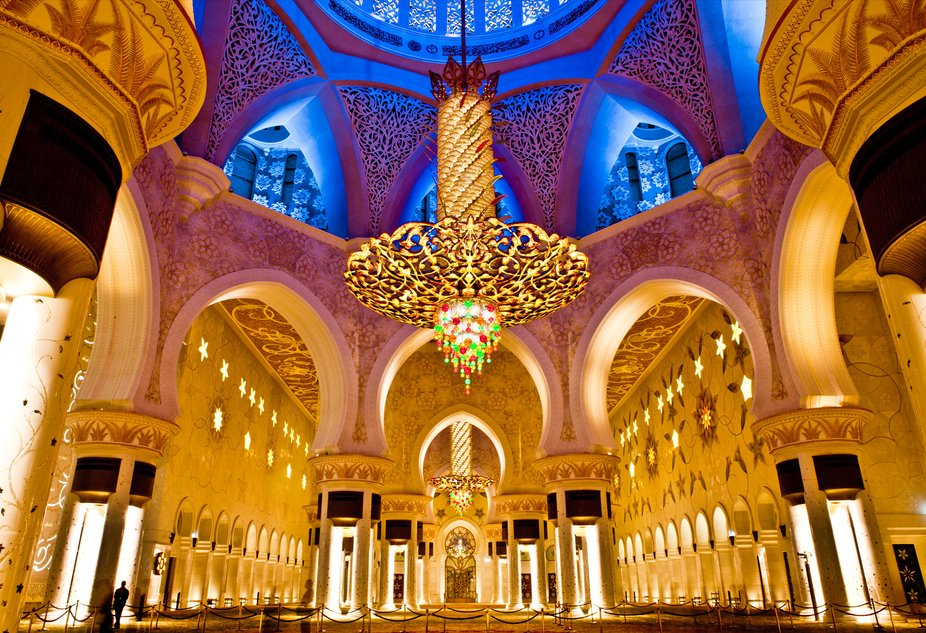 Sheikh Zayed Grand Mosque is located in Abu Dhabi, the capital city of the United Arab Emirates. ...