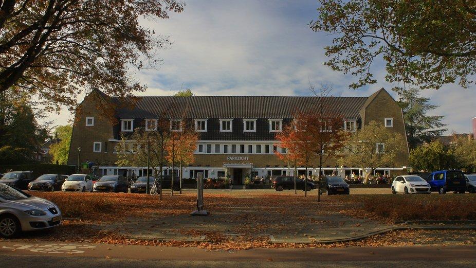 Symmetric Building in Eindhoven