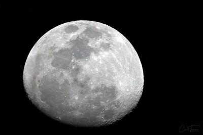 89% Waxing Gibbous Moon