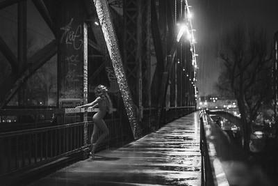 Rainy Night in Frankfurt