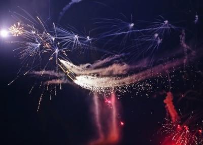 Scandinavian Airshow Pyro Night