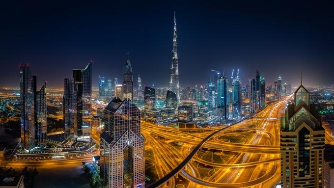 Downtown Dubai by JasonPiper - Bright City Lights Photo Contest
